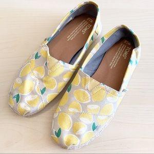 TOMS | Limited Edition Lemon Espadrille Flats